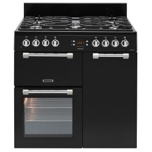Leisure CK90F232K Cookmaster Dual Fuel Range Cooker Black 90cm