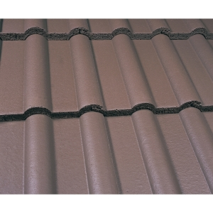 Marley Double Roman Roofing Tile Smooth Brown - Pallet of 192