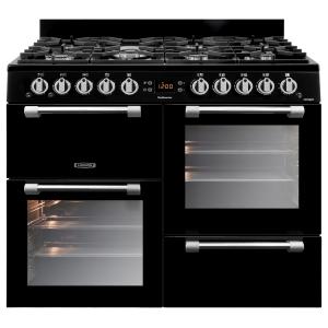 Leisure CK100G232K Cookmaster Gas Range Cooker Black 100cm