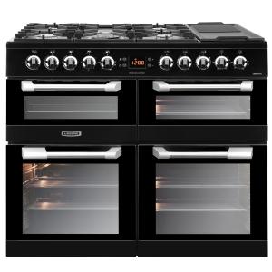 Leisure CS100F520K Cuisinemaster Dual Fuel Range Cooker Black 100cm