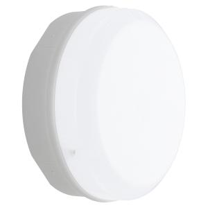 Luceco LBM290W11S40 Mosi 12W LED Amenity Bulkhead White 1150LM IP65