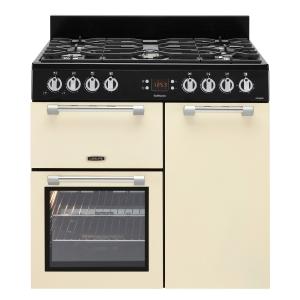 Leisure CK90G232C Cookmaster Gas Range Cooker Cream 90cm