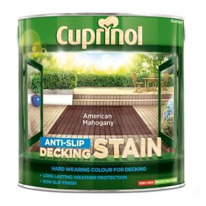 Cuprinol Anti Slip Decking Stain American Mahogany 2.5L 5092615