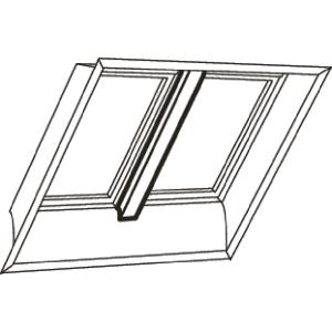 Velux White Veneer Support Trimmer 200cm EKY W20 2000