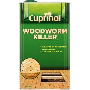 Cuprinol Woodworm Killer (Wb) 5L