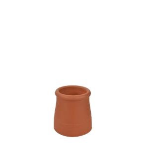 Hepworth Terracotta Chimney Pot Roll Top Red 300mm