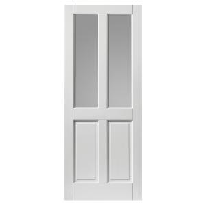 Jb Kind Colonial 4 Panel Glazed Extreme External Prefinished Door 44 x 1981 x 838mm
