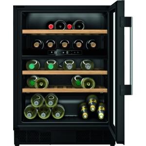 Neff N70 KU9213HG0g Built Under Wine Cabinet Black Glass 60cm