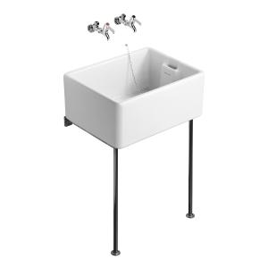 Ideal 60/46cm Belfast Sink White S582701