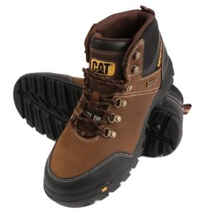 Caterpillar Framework Safety Boots Brown