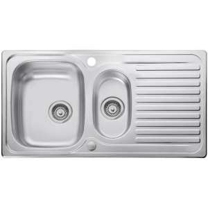 Leisure Linear 1.5 Bowl Inset Stainless Steel Kitchen Sink