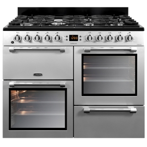 Leisure CK100F232S Cookmaster Dual Fuel Range Cooker Silver 100cm