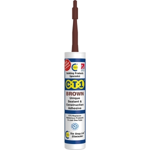 C-TEC Brown Sealant CT1 Tube 290ml