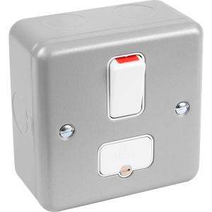 MK Metal Clad 13A Dp Switched Connection Unit