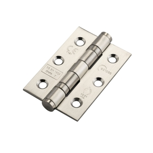 Eclipse 76 x 51 x 2mm Satin Stainless Steel Ball Bearing Hinge Grade 7