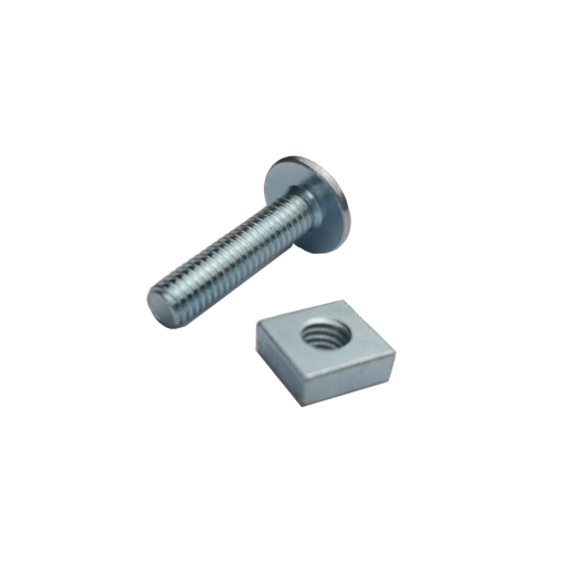 4TRADE Roofing Bolt and Nut M6 x 25mm Pack of 10