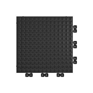 Versoflor Taskflor Flooring Tile Graphite Black 9 Pack