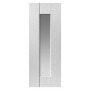White Axis Primed Glazed Internal Door