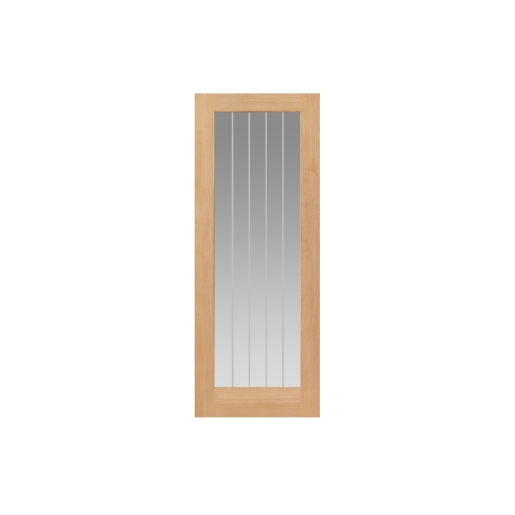 Internal Oak Internal Suffolk 1 Light Glazed Door 2040 x 826 x 40mm