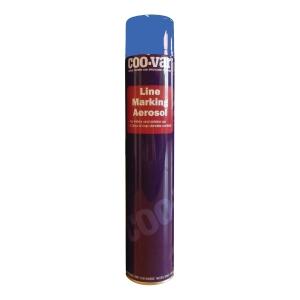 COO-VAR Road Line Aerosol Blue 750ml (Pack of 6)