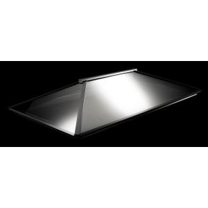 Vista Glaze Contemporary Roof Light 1.5m x 3m Grey