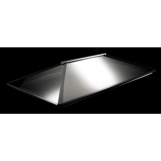 Vista Glaze Contemporary Roof Light 1.5m x 3m Grey