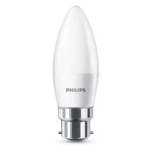 Philips LED 40wCandle B22 Non-Dim Single