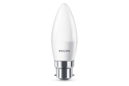 Philips LED 40wCandle B22 Non-Dim Single