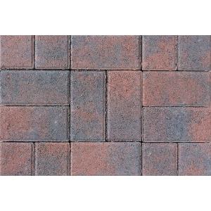 Tobermore Pedesta Decorative Block Paving in Brindle 200x100x50mm - Pack of 720