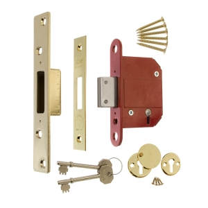 Era Fortress British Standard 5 Lever Deadlock 64mm