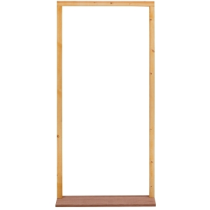External 33 Inch Softwood Weather Stripped Door Frame with Sill Outward Opening - FX29M