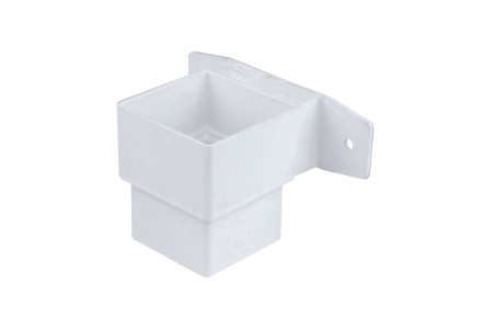 Osma SquareLine 4T824 Pipe Connector And Bracket Stand Off 61mm White