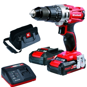 Einhell Te-cd 18/2 Combi Drill with 2x1.5Ah Batteries 4513834