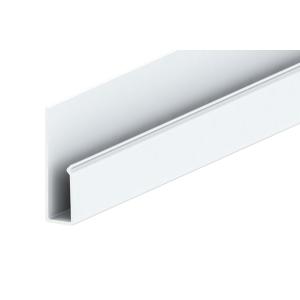 Liniar Soffit J Trim White 3000mm x 50mm (Pack of 5)