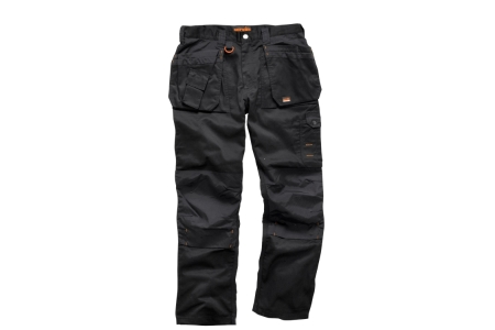 Scruffs Black Worker Plus Trouser 32R