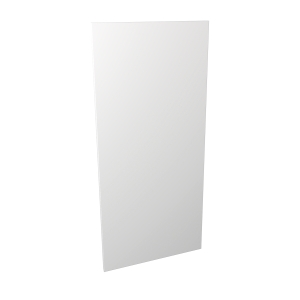 Madison Gloss White 600 x 1319mm Appliance Fascia