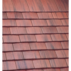 Marley Plain Roofing Tile Old English Dark Red - Pallet of 900
