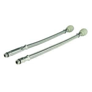 JG Speedfit monobloc flexible connector hose 15mm x M10 male