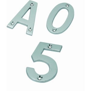 Satin Stainless Steel 102mm Letter in A