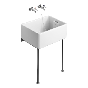 Ideal 60/46cm Belfast Sink White S582701
