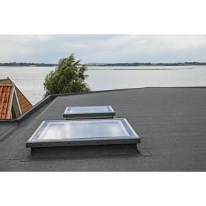 VELUX Flat Roof Flat Glass Cover 600mm x 900mm