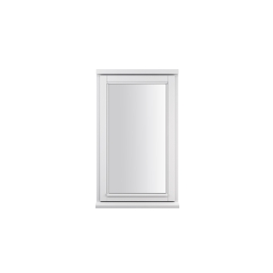 JELD-WEN Stormsure White Timber Window 2 Panel Right Opening 1195 x 625mm