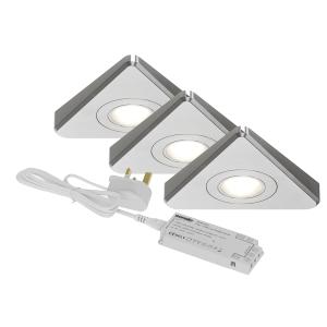 Sensio SE11290N3 Treos Under Cabinet 3 Light Kit Natural White
