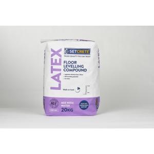 Setcrete Latex Floor Levelling Compound 20kg T0603E5A