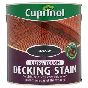 Cuprinol Anti Slip Deck Stain Urban Slate 2.5L